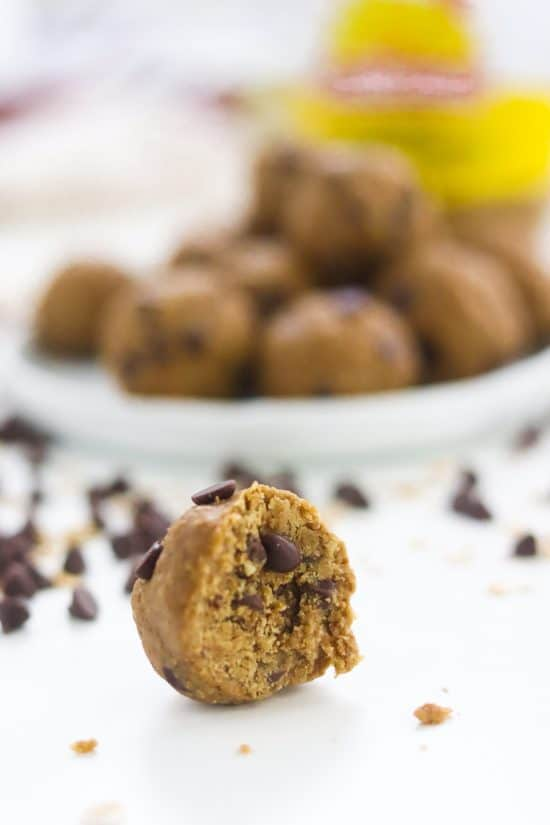 easy cookie dough bites