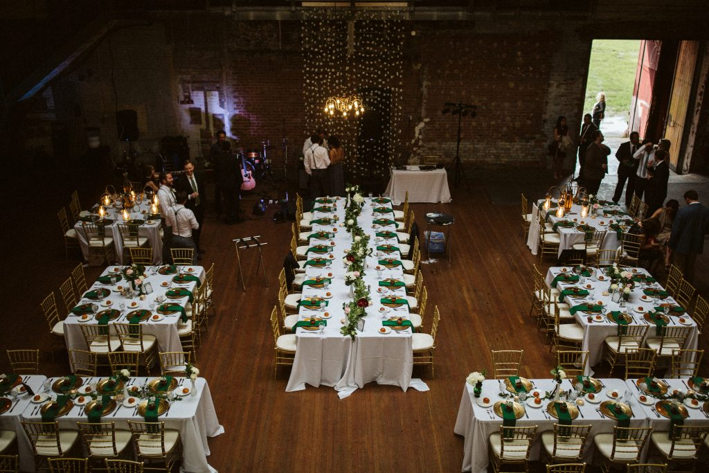 A Detroit Wedding At The Jam Handy