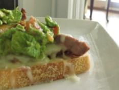 Brian's Fajita Steak and Cheese Crostini with Guacamole