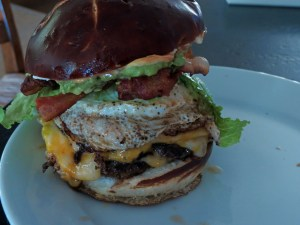 Brian's Ultimate 24Hr Game Day Burger