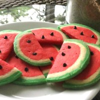 Watermelon Cookies!