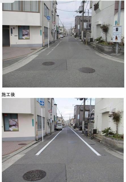 歩道ライン 安井町付近 山口典子.jpg