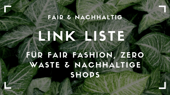 Link Liste Fair Fashion