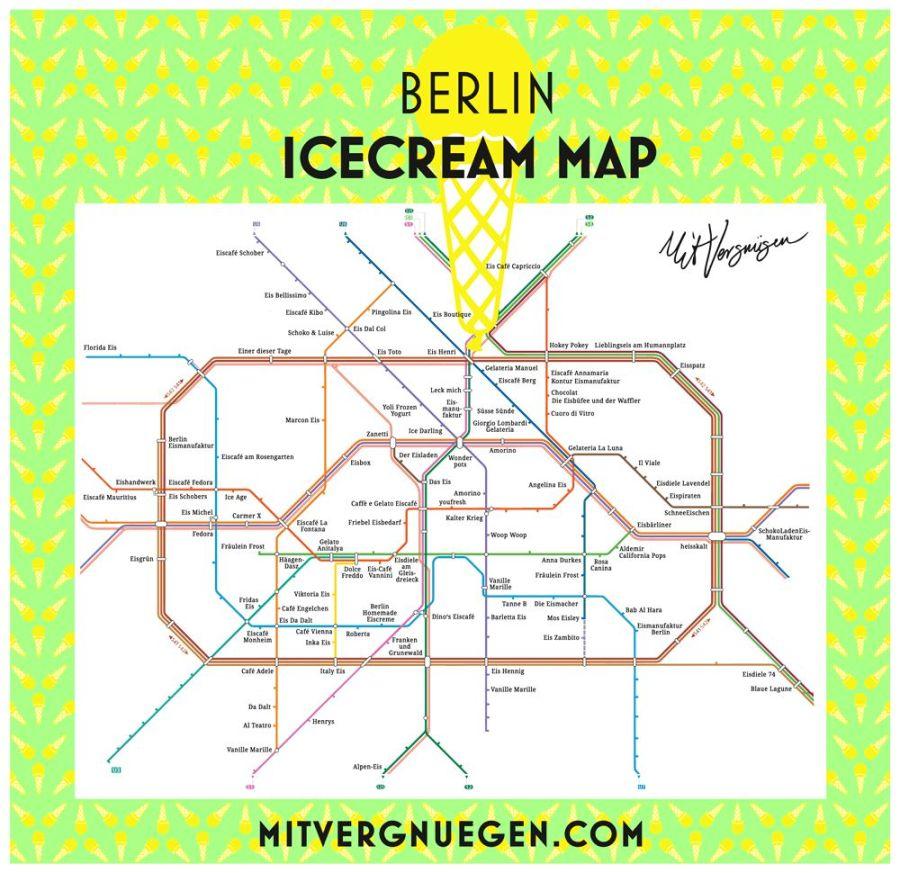carte des glaces à berlin