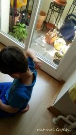 8. Kind malt sich an