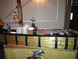 kosher sushi boat