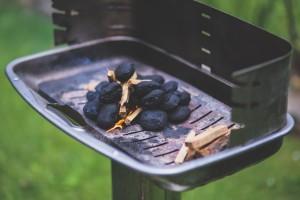 briquette style grill