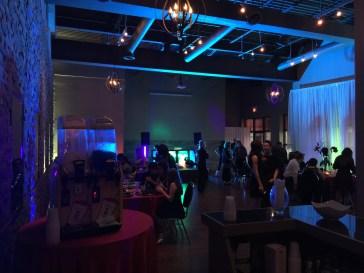 cocktail wedding reception