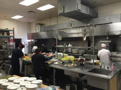 Kosher catering staff