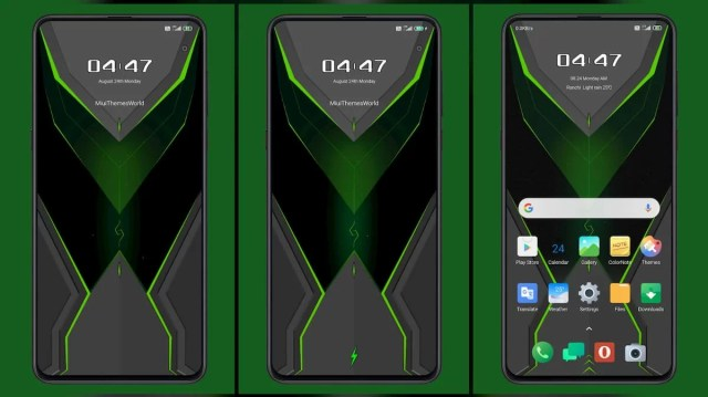 Black-shark-Lite-MIUI-11-Theme-with-nice-Animated-Lock-Screen