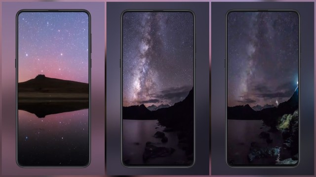 Recover the clear night sky MIUI Video Wallpaer