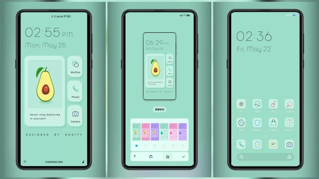 New mimicry Third Party MIUI Themes