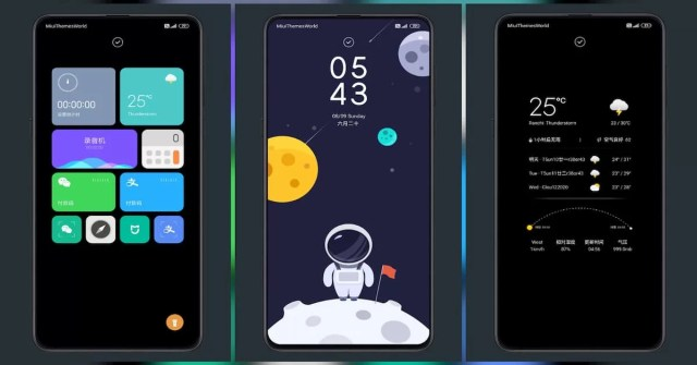 Star Travel Third Party MIUI Theme for MIUI 11
