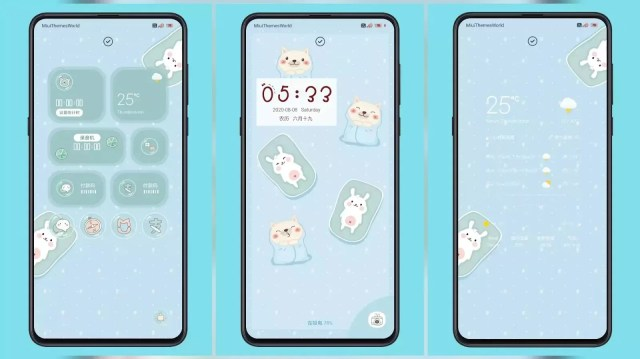 Potato Dog and Bunny Couple Third Party MIUI 11 Theme