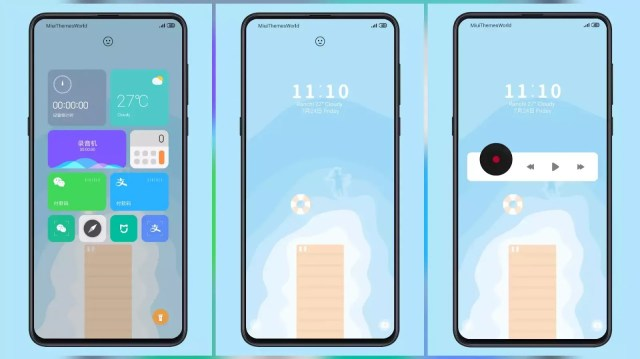 Shallow Third Party MIUI 11 Theme | Simply Cool