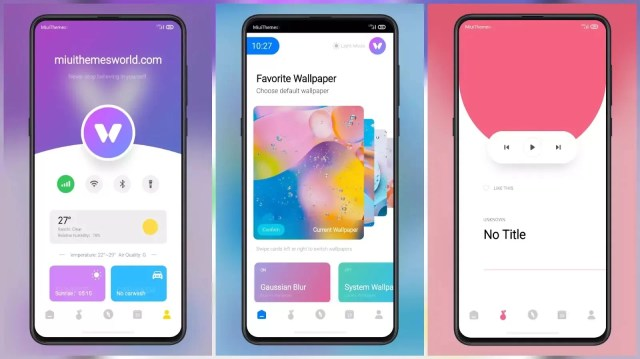 Aroma MIUI 12 Theme with Huge Customization