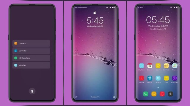 Purple Rain v12 MIUI 11 Theme | Simply Beautiful