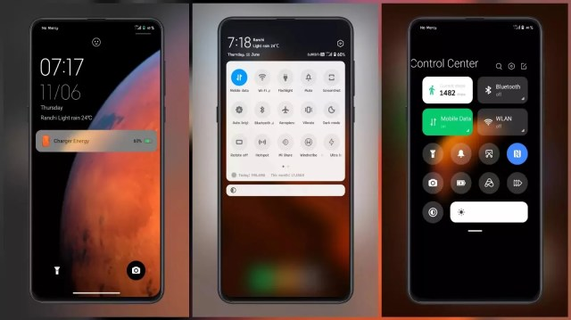 Control [Mars] MIUI 12 Themes for MIUI 11