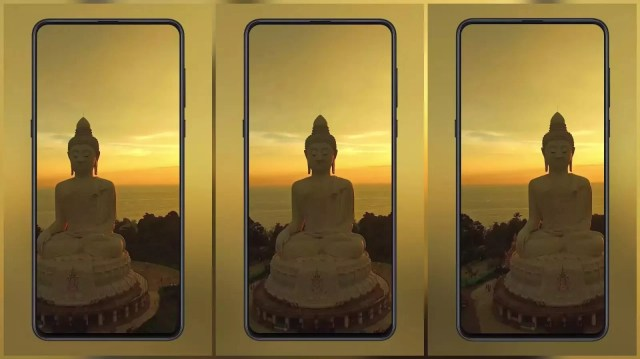 Buddha statue in the sunset MIUI Video Wallpaper