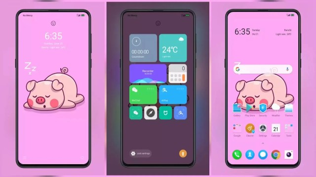 Pink v12 MIUI 12 Themes for MIUI 11 and MIUI 12