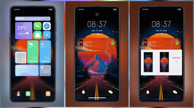 Road to Sunset 2020 v12 MIUI 12 Themes for MIUI 11 and MIUI 12