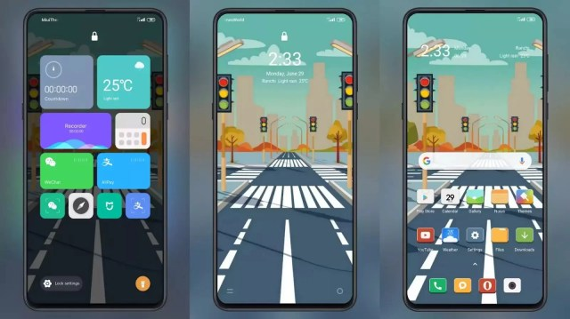 Street v12 MIUI Theme for MIUI 11 and MIUI 12