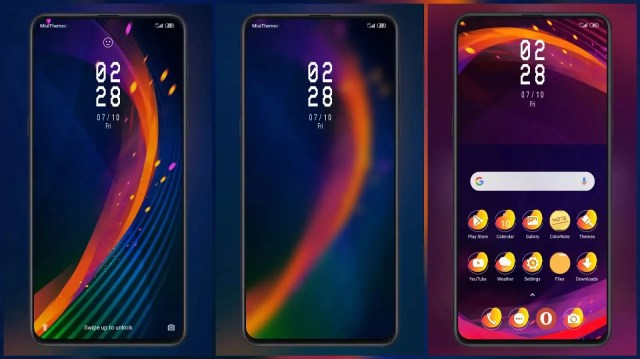 Color Burst_3MDP MIUI Theme for MIUI 11 | Colorfull icons