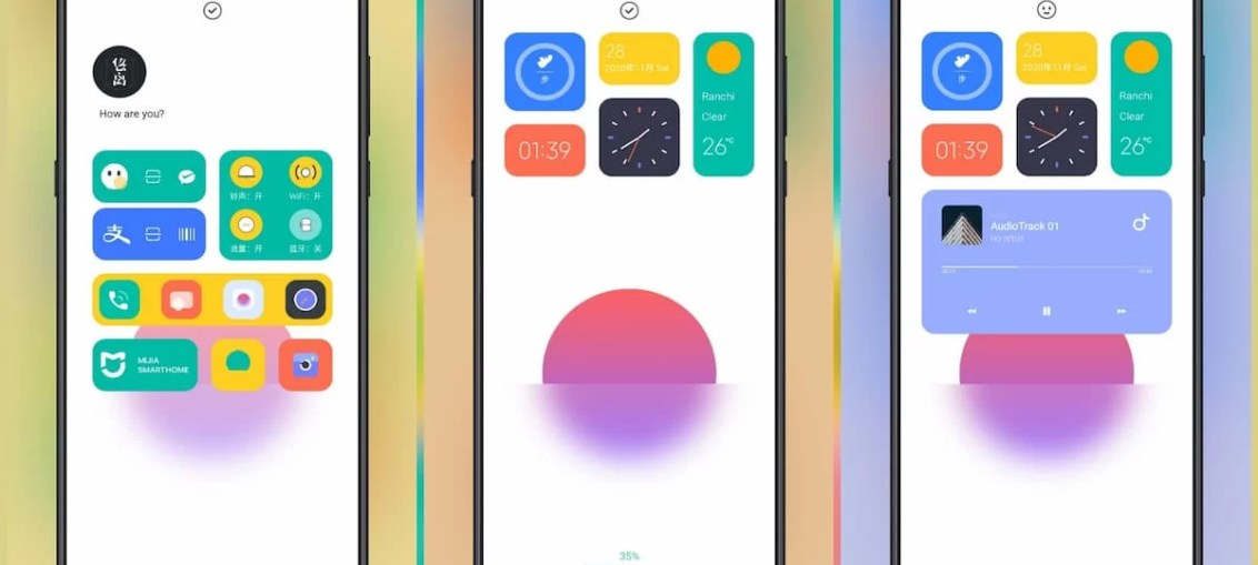 Rise-MIUI-Theme-for-Xiaomi-Redmi-POCO-Devices-with-multi-function-Lock-Screen