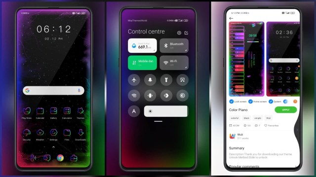 Color-Piano-MIUI-Theme-with-Neon-Icons-and-Piano-on-Lock-Screen