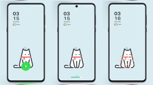 A-cat-MIUI-Theme-with-Dynamic-Lock-Screen-and-3-Charging-Animations