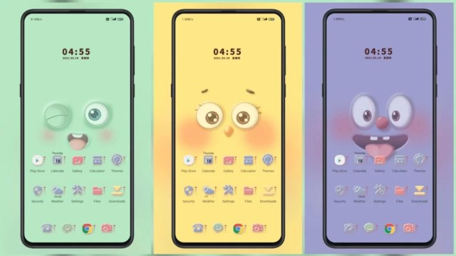 Cute-party-MIUI-Theme-with-Dynamic-Bubble-Sound-Effects