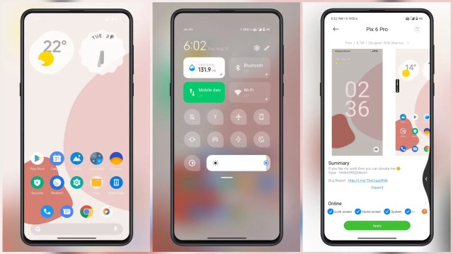 Pix-6-Pro-MIUI-Theme-with-Changeable-Desktop-Wallpapers
