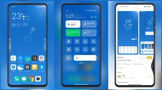 Weather-UI-MIUI-Theme-with-Customizable-Weather-Effects