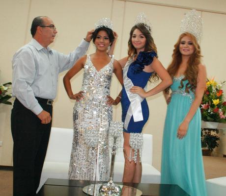 Marín León, Hecbel Rubí, Alexia Palazuelos y Lorena Beltrán