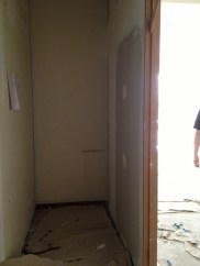 This is our new storeroom - 150cm x 90cm. Not bad, huh?