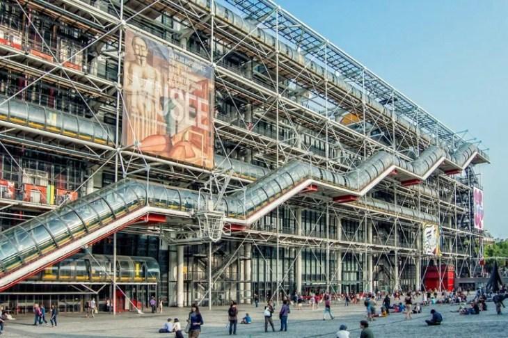El Centro Pompidou de París y sus obras principales — Mi Viaje
