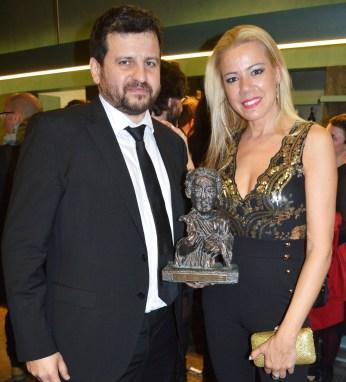 Con Sergio Frade