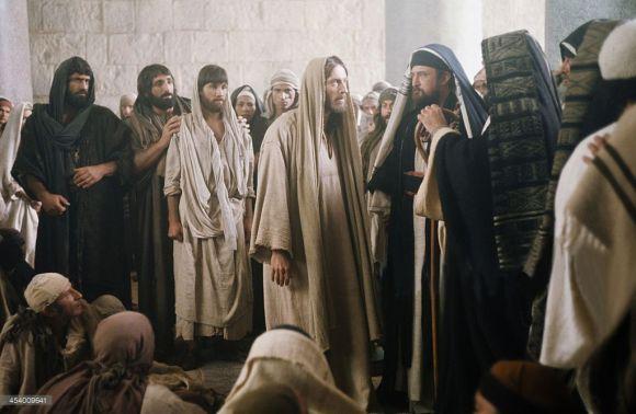 Jesus y los fariseos