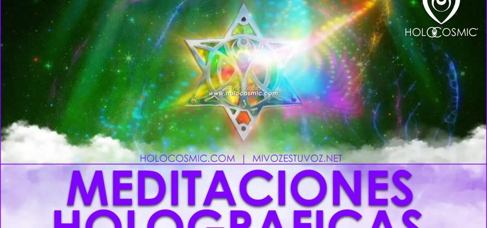 «Una armonización frecuencial que recoge las nuevas vibraciones que Gaia está emitiendo para alinearnos con su proceso.» MEDITACIONES HOLOGRÁFICAS