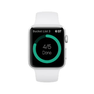 Miwaresoft Bucket List 3 - Apple Watch