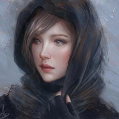 Цифровая живопись Trungbui42