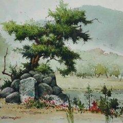 Корейская живопись. Чон Сон Ки – Jeon Sung Ki (전성기)