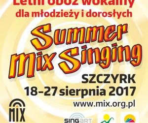 """Letni Obóz Wokalny """"Summer Mix Singing – Szczyrk"""" 2017"""