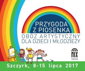 Przygoda zPiosenką – Obóz Artystyczny dla Dzieci iMłodzieży