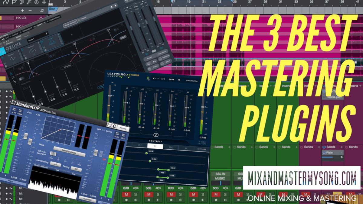The Three Best Mastering Plugins