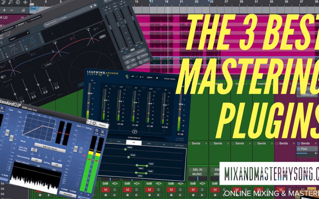 The Three Best Mastering Plugins