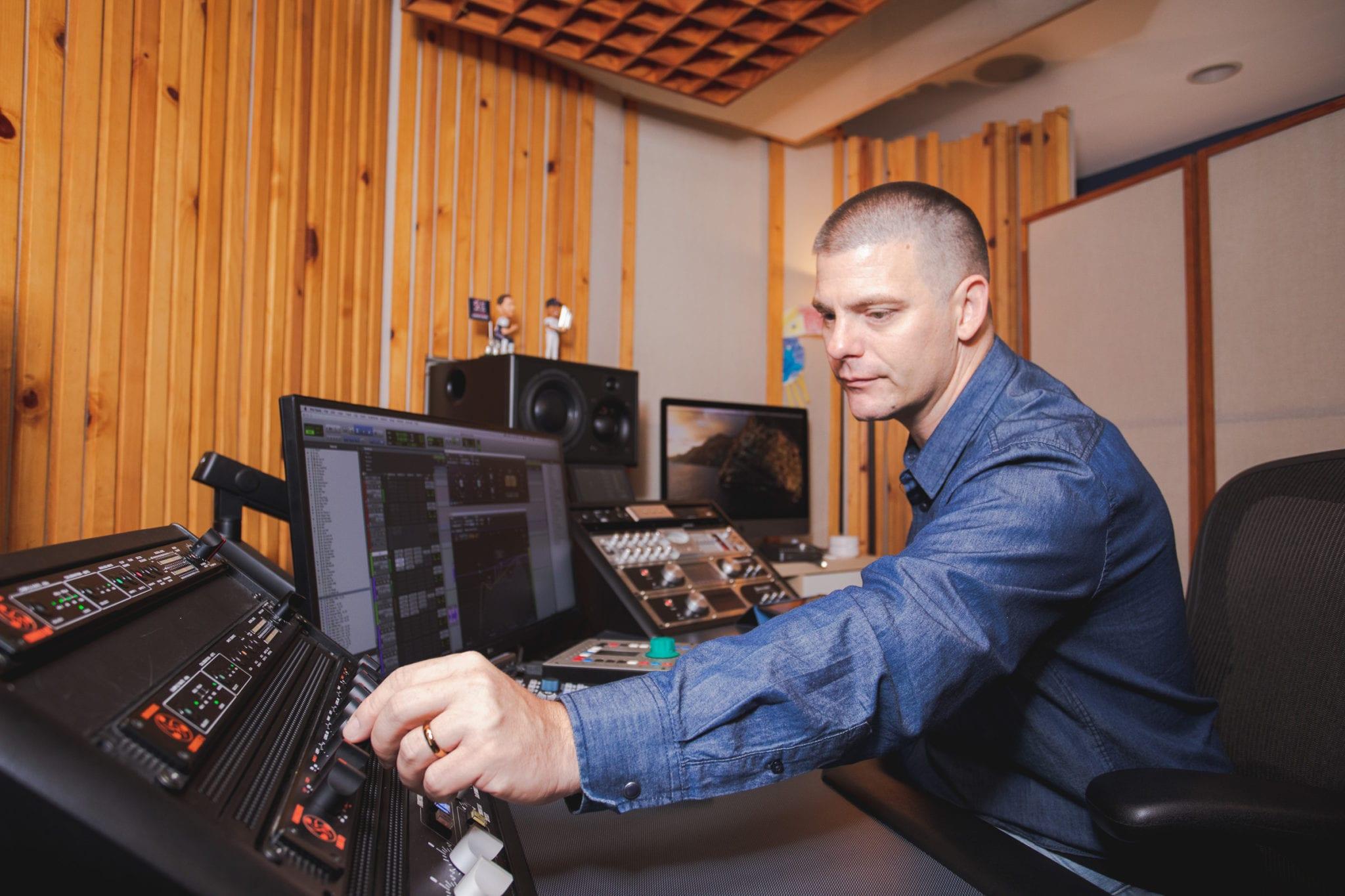 Mixing Engineer Matty Harris