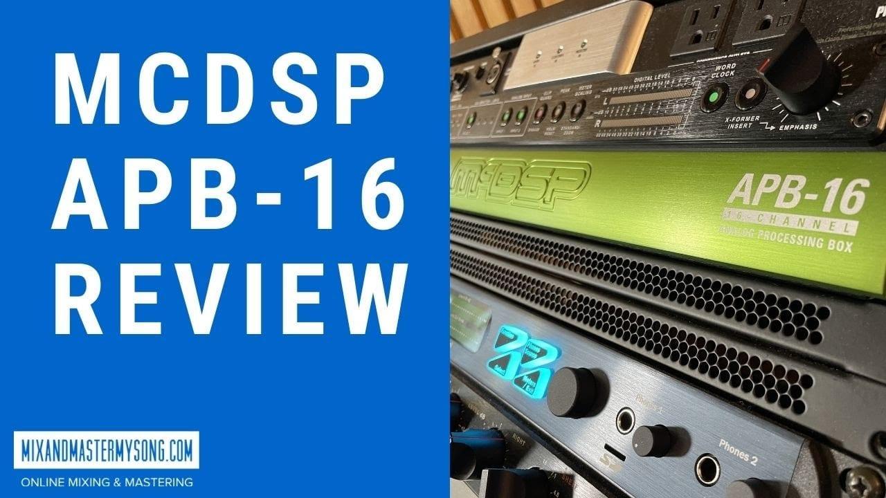 McDSP APB16 Review