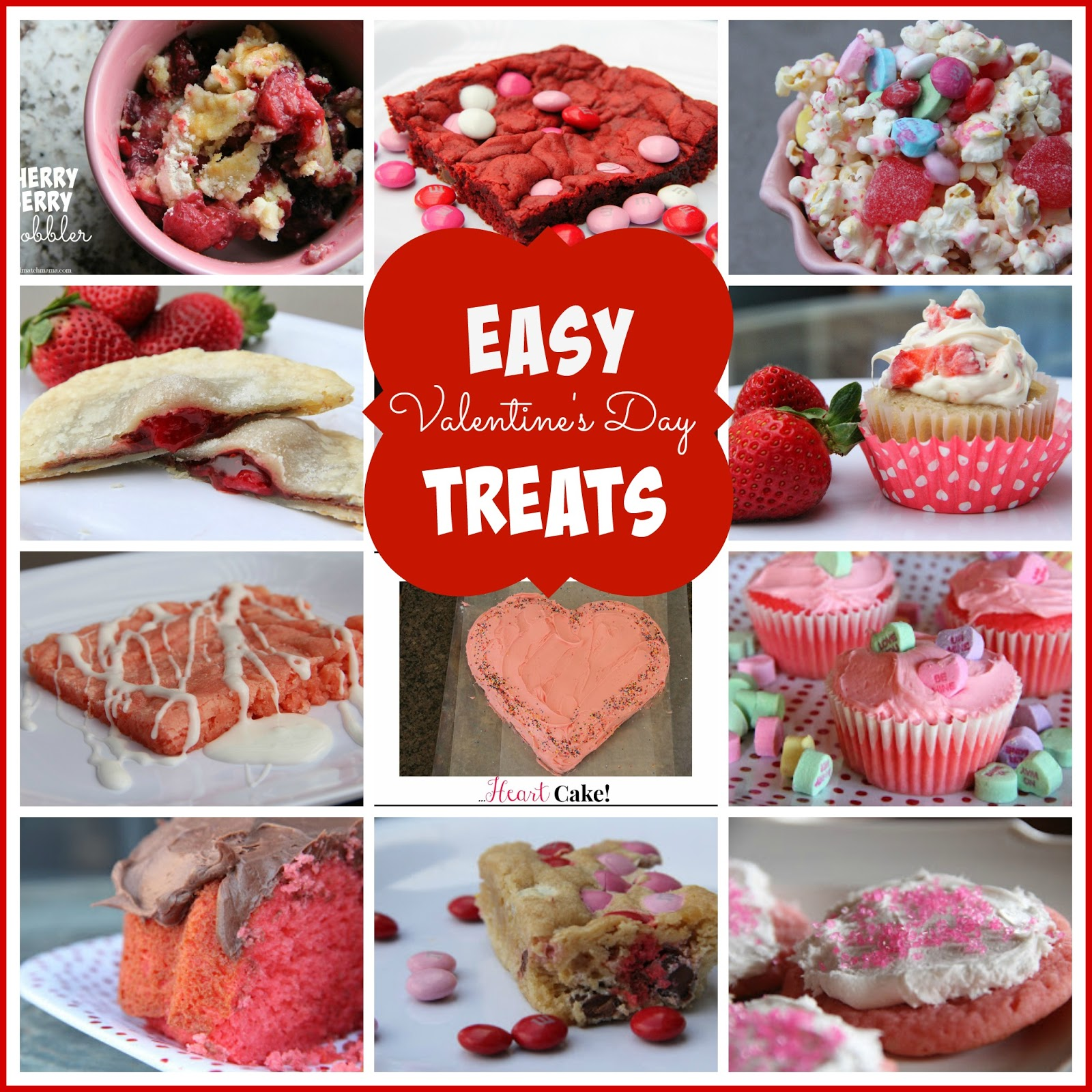 Easy Valentines Day Treats Mix And Match Mama