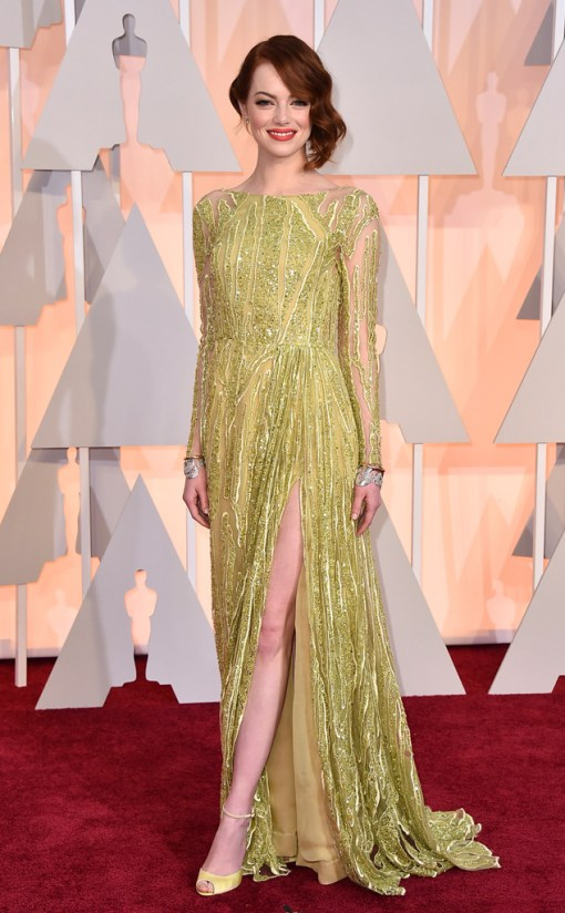 Emma Stone Oscar 2015
